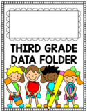 Third Grade Data Folder and Binder Cover Page