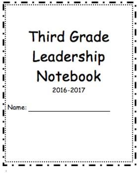Third Grade Data Tracker/ Third Grade Leadership Notebook (Journey's Storys)