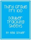 Third Grade Dauber Activity Sheets