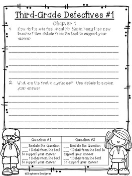 Third Grade Detectives #1-The Clue of the Left Handed Envelope