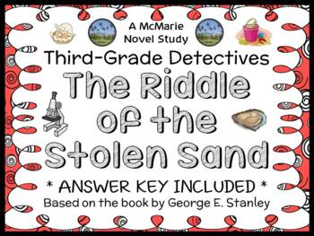 Third-Grade Detectives #5: The Riddle of the Stolen Sand (Stanley) Novel Study