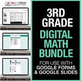 3rd Grade Digital Math Games   Math Centers   3rd Grade Distance Learning Math