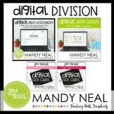Third Grade Digital Math Division Bundle | Distance Learning
