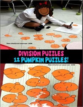 Third Grade Division Math Centers