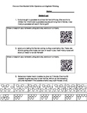 Third Grade Division Word Problems with QR Reader