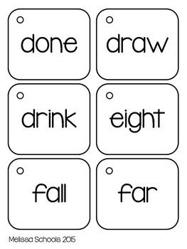 Third Grade Dolch Flash Cards