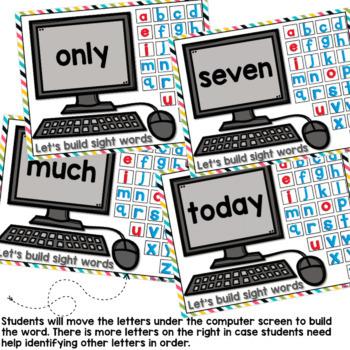 Third Grade Dolch List Google Classroom Build a Word