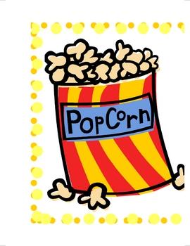 Third Grade Dolch Popcorn Words