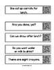 Third Grade Dolch QR Code Sentences (fluency & accuracy)