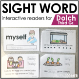 Third Grade Dolch Sight Word Books | Printable Dolch Sight