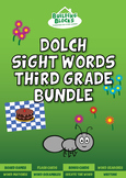 Third Grade Dolch Sight Words Bundle