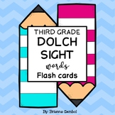 Third Grade Dolch Sight Words Flash Cards