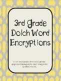 Third Grade Dolch Word Encryption Fun!