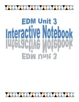 Third Grade EDM Unit 3 Interactive Notebook