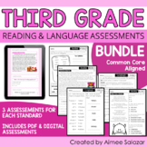 Third Grade ELA Assessments BUNDLE