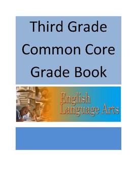 Common Core ELA Third Grade Record Book