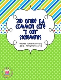 "Third Grade ELA Common Core Kid Friendly ""I Can"" Statements and More!"