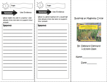 Engage NY Third Grade ELA Module 2 Comprehension Trifolds