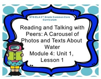 Third Grade ELA Module 4: Unit 1: Lesson 1