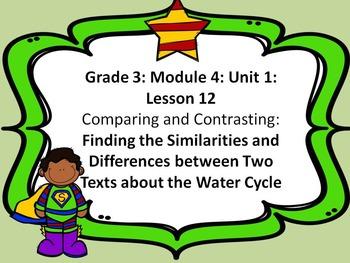 Third Grade ELA Module 4: Unit 1: Lesson 12