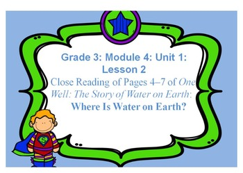 Third Grade ELA Module 4: Unit 1: Lesson 2