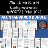 Third Grade ELA Standards Based Assessments ALL INFORMATIONAL STANDARDS BUNDLE