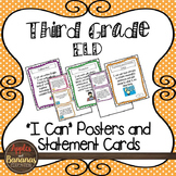 """Third Grade ELD """"I Can"""" Posters and Statement Cards"""