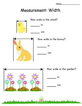 Third Grade Easter Math Activities