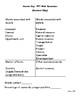 Third Grade Economics Unit Vocabulary Recognition Pre-and