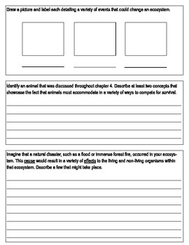 """Third Grade """"Ecosystems in Balance"""" Common Core Science Study Guide"""