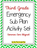 Third Grade Emergency Sub Packet *No Prep*
