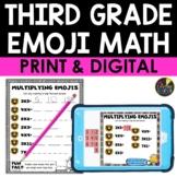 Third Grade Emoji Math