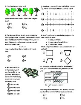 Third Grade End of Grade Review
