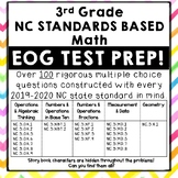 Third Grade End of Grade, EOG, Math Review Test Prep North Carolina Aligned
