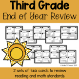 Third Grade End of Year Review Scoot