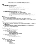 Third Grade End of the Year Review Notes