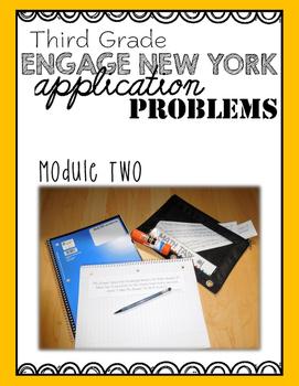 Third Grade Engage NY Eureka Application Problem Strips Module Two