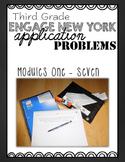 Third Grade Engage NY Eureka Application Problem Strips Modules One-Seven BUNDLE