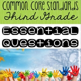 Third Grade Essential Questions