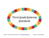 Third Grade Essential Standards