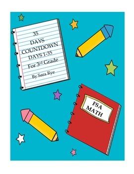Third Grade FSA Assessment Math 35 Day Countdown Days 1-35