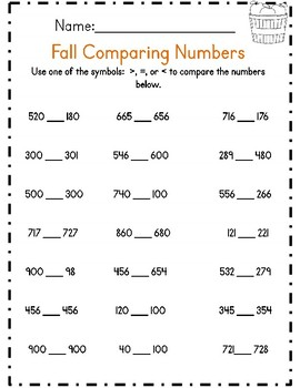 Third Grade Fall Math & ELA Packet *Common Core Aligned*