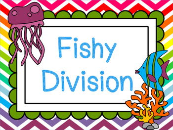 Third Grade Fishy Division Poster