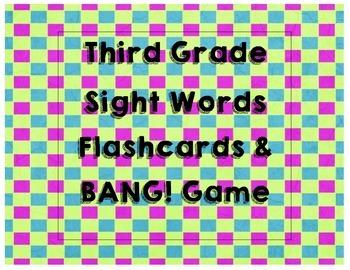 Third Grade Flashcards/Game