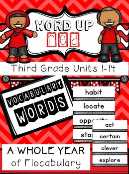 Third Grade Flocabulary Words Units 1-14