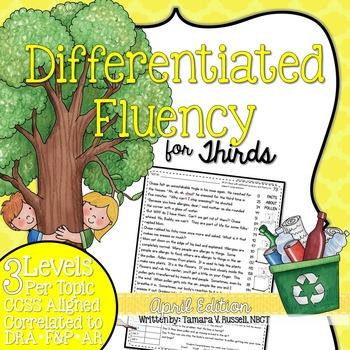 Third Grade Fluency: April Edition