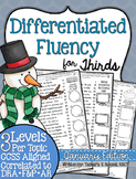 Third Grade Fluency: January Edition