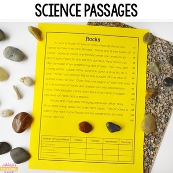 Fluency Passages \u0026 Comprehension {integrated Science And Social Studies} 2nd Grade Daily Math Worksheets Fluency Worksheets For 3rd Grade #1