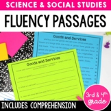 Fluency Passages & Comprehension {Science and Social Studies} Distance Learning