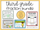 Third Grade Fraction Activity Bundle